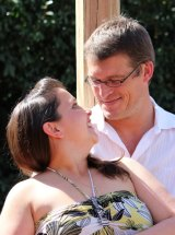 Julie Marshall and Alex Mills win the wedding of their dreams.
