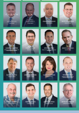 A page on the Liberal Party's candidate website.