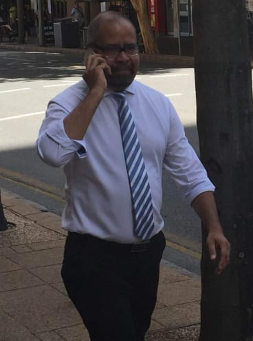 Independent Cook MP Billy Gordon, pictured days before he suffered a minor heart attack.