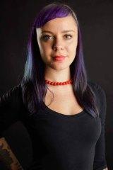 Grrl Fest founder, Amy Broomhall.
