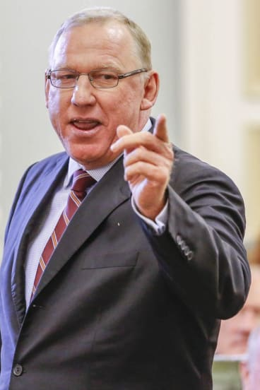 Jeff Seeney is returned to the frontbench, as leader of opposition business.