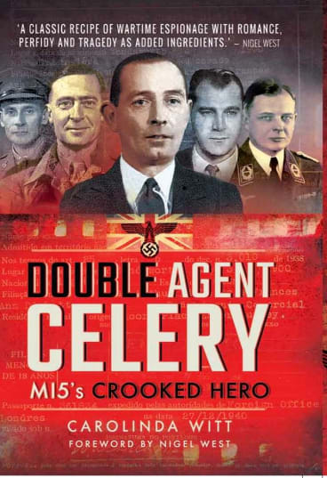 The story of Dickett's exploits, <i>Double Agent Celery – MI5's Crooked Hero</I>, will be released in October.