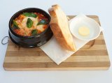 Baked eggs at Loading Zone