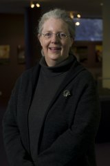 Dr Martha Sear, curator of the League of Remarkable Women exhibition at the CSIRO centre.