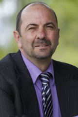 NSW upper house MP Lou Amato, whose home was the venue for the meeting.