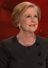 Resisted pressure to resign: Professor Gillian Triggs, the President of the Australian Human Rights Commission.