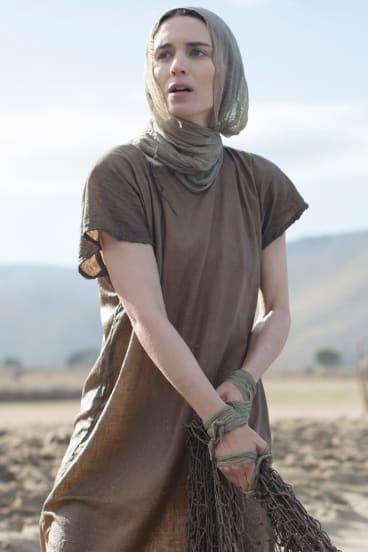 Rooney Mara as Mary Magdalene.