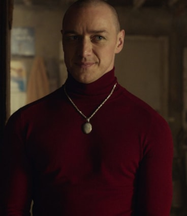 James McAvoy, as the Patricia personality, in <i>Split</i>.