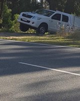Photos of the bogged speed camera operator emerged on social media