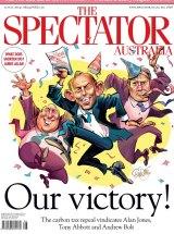 The Spectator Australia cover for July 12.