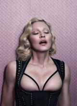 Madonna, as she appears in a shoot for the latest issue of <i>Interview</i> magazine.