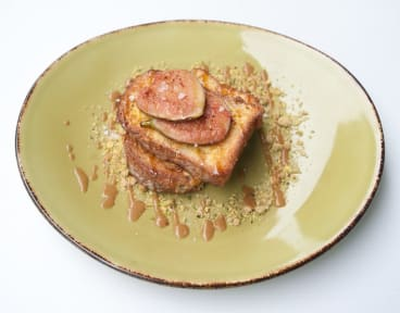 Brioche French toast at Mood Food & Co