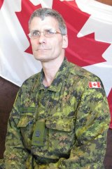 Warrant Officer Patrice Vincent, who was killed in the attack at Saint-Jean-sur-Richelieu.