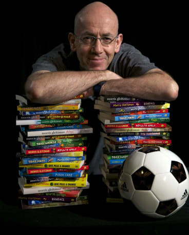 Morris Gleitzman has written more than 40 books in his career.