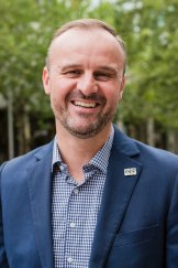 Chief Minister Andrew Barr created two new land agencies to replace the LDA.