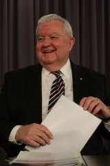 """""""Something different from what we've done in the past"""": Professor Ian Chubb."""