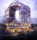 Crown Group is developing the Infinity project at Green Square.