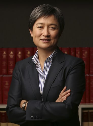 """""""Could future changes to the renewable energy target or carbon farming schemes give rise to liabilities under this dispute mechanism?"""": Penny Wong."""