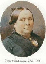 Redmond Barry's  mistress, Louisa Bridget Barrow.