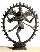 The Shiva as Nataraja, Lord of the Dance, statue that was returned to India.