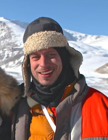 Otto Bell, director of <i>The Eagle Huntress</i>.
