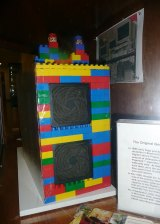 The original Google server was housed in a cabinet constructed from Lego bricks.