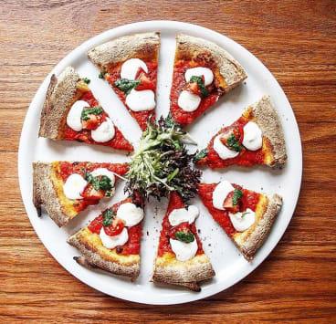 A pizza from Al Taglio.
