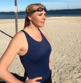 Susan Berg will confront her fierce fear of swimming and the open ocean in January's Lorne Pier to Pub race.