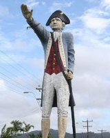 The Big Captain Cook in far north Queensland.