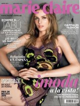 Andreja Pejic on the cover of <i>Marie Claire Spain</i>.