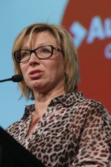 Rosie Batty spoke about the importance of supporting the victims of abuse.