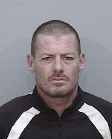 Jason Rees, 43, was on the run after escaping police custody.