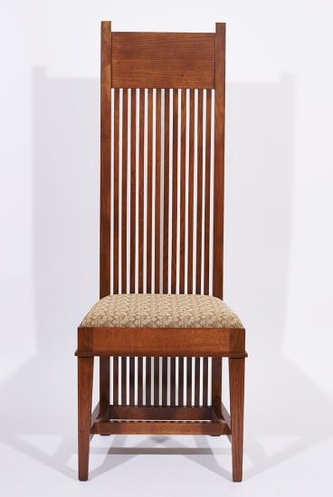 The Frank Lloyd Wright spindle chair.