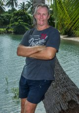 Leon Baker pictured in Port Douglas this week.