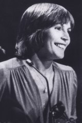 "Helen Reddy accepts her Grammy Award for the best female pop, rock and folk vocal performance in 1973. She thanked God ""because She makes everything possible""."