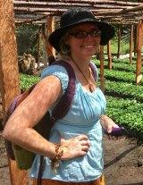 Jacki Oliver in Uganda.