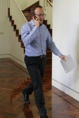 Adam Bandt ahead of the Greens partyroom leadership ballot.