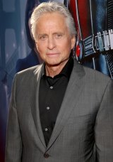 Actor Michael Douglas, a high-profile throat cancer sufferer.