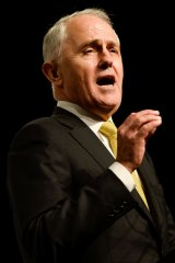 """Prime Minister Malcolm Turnbull says fixing the budget is """"more than economics""""."""