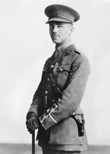 Wilfred Owen had seen but a handful of his poems in print before his death, aged 25.
