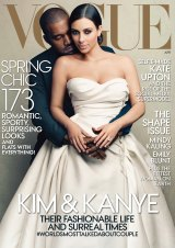 Kim Kardashian and Kanye West's Vogue cover that divided the fashion masses but was one of the magazine's most popular editions.