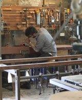 The Apprenticeship - Furniture Maker Aaron Barton in his workshop