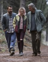 Family crisis: (from left) Ewen Leslie, Odessa Young and Sam Neill in <i>The Daughter</i>.
