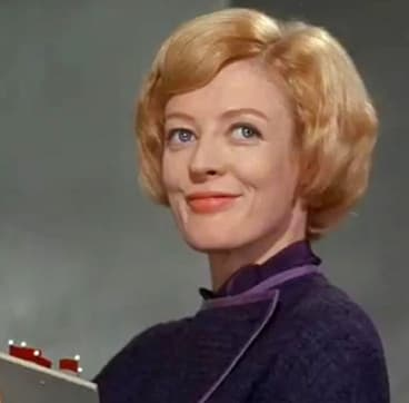 Maggie Smith as Jean Brodie.