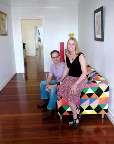 Tom Cameron and Anne Slee at Brisbane's Salt Space.