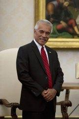 Kiribati's President Anote Tong