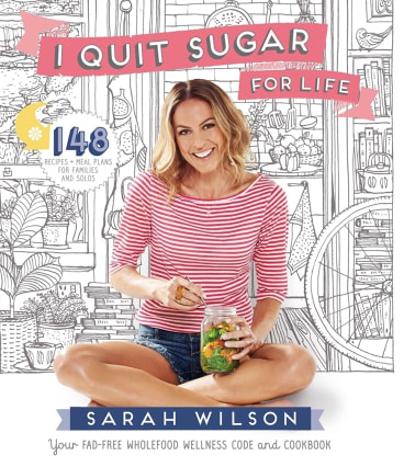 Wilson's best-selling book I Quit Sugar.