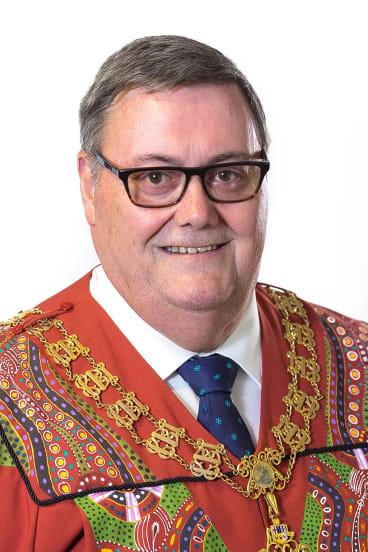 Alice Springs mayor Damien Ryan.