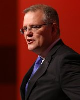 Social Services Minister Scott Morrison is concerned by an Australian Institute of Family Studies report showing problem gambling rates are three times higher among online gamblers.