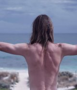 Brent McIntyre's epic journey started and ended, naked in the ocean.
